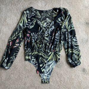 Zara tropical bodysuit
